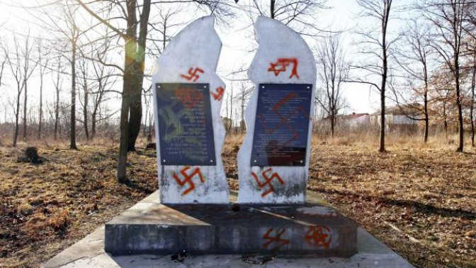 Jewish Cemetery Vandalized in Poland